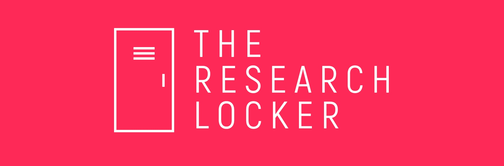The research locker banner